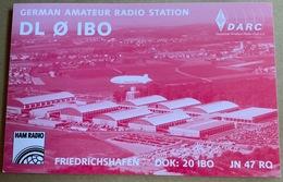 Qsl Karte Deutschland- Friedrichshafen DL0IBO ...DARC Ham Radio - Amateurfunk