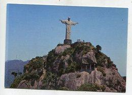 BRAZIL  - AK 355367 Rio De Janeiro - Corcovado Mountain And Christ Redeemer - Rio De Janeiro
