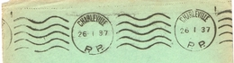 France. Flamme. Port Payé. Charleville. 1937 - Marcophilie (Lettres)