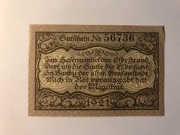 Allemagne Notgeld Barby 50 Pfennig - Collections