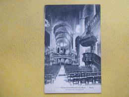 PARIS. L'Eglise Saint Etienne Du Mont. La Nef Et Le Jubé. - Eglises