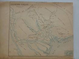 Cochinchine Française, Expédition De 1858, Atlas St-Cyr Vers 1870 ?  ; PAP02 - Carte Geographique