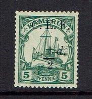 GERMANY...CAMEROUN...CEF Overprint - Colony: Cameroun