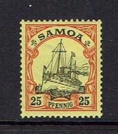GERMANY...SAMOA - Colony: Samoa