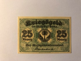 Allemagne Notgeld Berka 25 Pfennig - Collections