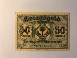 Allemagne Notgeld Berka 50 Pfennig - Collections