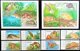# Grenada 1990**Mi.2098-2107 Mammals ,MNH  [19;189] - Sellos