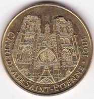 """Médaille Souvenir Ou Touristique > Toul  """"La Cathédrale Saint Etienne"""" > Dia. 34 Mm - Monnaie De Paris"""