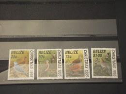 BELIZE - 1995 NATALE/COLOMBE 4 VALORI - NUOVI(++) - Belize (1973-...)