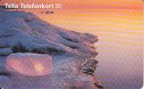 SWEDEN(chip) - Iced Sea Shore, 06/97, Used - Sweden