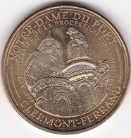"""Médaille Souvenir Ou Touristique > Clermont Ferrand """"Notre Dame Du Port""""  > Dia. 34 Mm - Monnaie De Paris"""