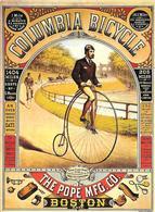 CPA-1970--REPRO-AFFICHE PUBLICITE-1908-BICYCLES COLOMBIA- BOSTON USA-TBE - Publicité