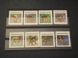 VIETNAM - 1976 ANIMALI 8 VALORI - NUOVI(++) - Vietnam