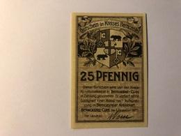 Allemagne Notgeld Berncastel 25 Pfennig - Collections