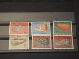 WALLIS FUTUNA - 1983 CONCHIGLIE 6 VALORI - NUOVI(++) - Wallis E Futuna