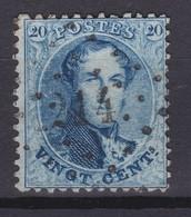 N° 15 A :  214 LESSINES COBA + 12.00 - 1863-1864 Medallones (13/16)