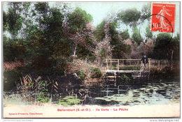 91 BALLANCOURT - Ile Verte, La Peche - Ballancourt Sur Essonne