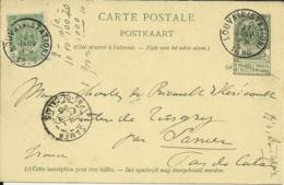 Louvain 1896 >> Samer Pas-de-Calais F - AK [1871-09]