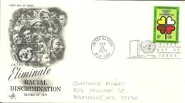 United Nations New York 1971 >> Baltimore MD USA - New-York - Siège De L'ONU