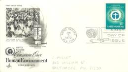 United Nations New York 1972 >> Baltimore MD USA - New-York - Siège De L'ONU
