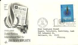 United Nations New York 1968 >> Baltimore MD USA - New-York - Siège De L'ONU
