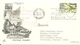 Ottawa 1970 >> Baltimore MD USA - 1952-.... Règne D'Elizabeth II