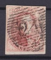 N° 8 Margé  24 BRUXELLES - 1851-1857 Médaillons (6/8)