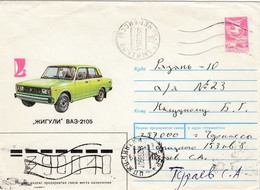 UdSSR 1988 - MiNr: U543? Bildumschlag - Autos
