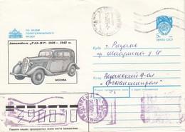 UdSSR 1990 - MiNr: U556? Bildumschlag - Autos