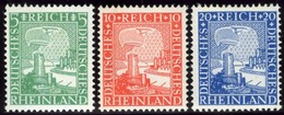 Germany. Sc #347-349. Mint. ** - Germany
