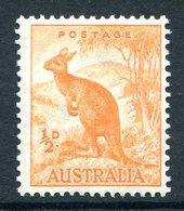 Australia 1937-49 KGVI Definitives (p.15 X 14) - ½d Kangaroo HM (SG 179) - 1937-52 George VI