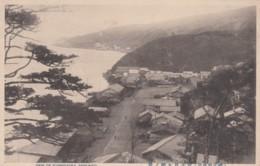 View Of Jujimigaoka, Reibunto, Seacoast Town In Japan C1910s/20s Vintage Postcard - Japan