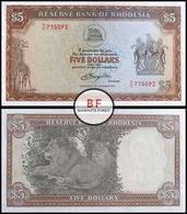 Rhodesia | 5 Dollars | 1978 | P.36b | UNC - Rhodesia
