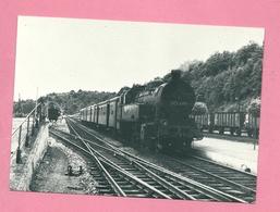 C.P. Ermeton-sur-Biert =  Train  Ligne 150  :  Locomotive TENDER Type 97 - Matériel