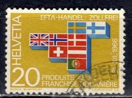 CH+ Schweiz 1967 Mi 852 EFTA - Switzerland