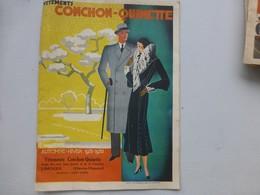 LIMOGES, 1931-32 Catalogue Vêtements Conchon-Quinette  Illustré  ; L01 - Livres, BD, Revues