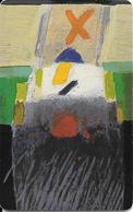 CARTE-PUCE-LUXEMBOURG-50U-SC21-OR1-2000-ART CONTEMPORAIN-21-Henri Kraus-V°Sans N° Série--TBE - Luxembourg