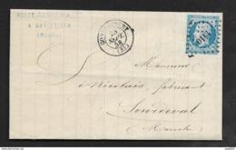 Meuse-Lettre (De Abainville)-Petit Chiffre 1410 De Gondrecourt Sur N°14A - Marcophilie (Lettres)