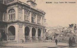 MESSINA - LARGO TEATRO VITT.EMANUELE - Messina