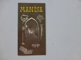 MANISA,  Brochure Illustrée Vers 1950 ; L01 - Michelin (guides)