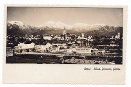 1940 YUGOSLAVIA, SLOVENIA, KRANJ, TPO RATECE-LJUBLJANA NO 72, ILLUSTRATED POSTCARD,  USED - Yugoslavia