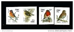 IRELAND/EIRE - 2002  BIRDS  SELF-ADHESIVE SET MINT NH - 1949-... Repubblica D'Irlanda