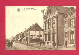 C.P. Erquelinnes  = Rue  De La Station  Et La Poste - Erquelinnes