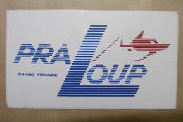 Autocollant : 04400 PRA LOUP 04 ALPES DE HAUTE PROVENCE - Autocollants