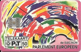 CARTE-PUCE-LUXEMBOURG-50U-TP06-SC7-05/94-4éElection Parlement EUROPEEN -V° N°Rge Série-C44144559-TBE - Luxembourg