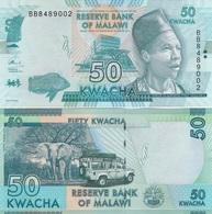 Malawi - 50 Kwacha 2016 UNC Lemberg-Zp - Malawi