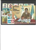 GUINEA ECUATORIAL- Todos Los Sellos Del Año 81 Nuevos Sin Fijasellos (según Foto) - Guinea Ecuatorial