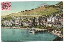 Montreux - Le Port Et Le Quai - VD Vaud