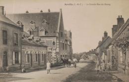 CPA ARVILLE  @ GRANDE RUE @ - Autres Communes