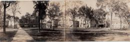 B&W RPPC - Real Photo - Lebanon New Hampshire - Panoramic Double Postcard - Written 1905-1910 (?) - 2 Scans - Etats-Unis